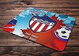 Azty Designs Custom Personalized Rubber Mouse Pad Colombia Futbol Liga Soccer League Junior