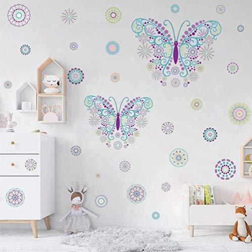 36 adhesivos de pared con diseño de mariposas, para habitación de niños, salón, guardería y decoración