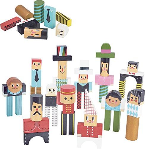 Vilac Vilac7717 - Bloques construcción Personajes