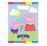 LES COLIS NOIRS LCN Lot 8 sachet surprise Peppa Pig - Sac Cadeau Bonbon Fête Anniversaire - 132