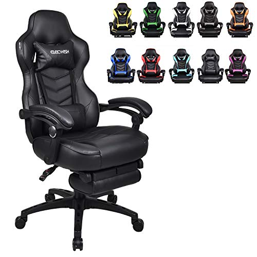 Racing Video Gaming Chair High Back Large Size Ergonomic Adjustable