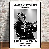 XQWZM Musik Star Poster und Drucke, Harry Styles 2018 Tour