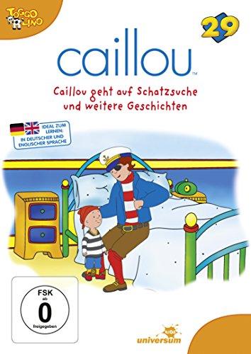 Caillou 29 - Caillou geht auf Schatzsuche und weitere Geschichten