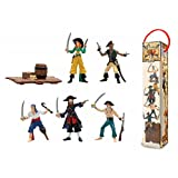 Plastoy 70386 Tubo Piraten – 6 Figuren