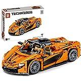 YOU339 950 unidades de ladrillo estático para coches superdeportivos compatibles con la serie Lego Technic, pequeñas partículas de construcción, colección de piezas de decoración