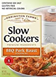 Orrington Farms Pork Roast Seasoning Slow Cooker Mix, BBQ, 2.5 Ounce (Pack of 12)