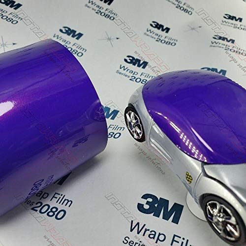 3M 1080 Gloss Plum Explosion | GP258 | Vinyl CAR WRAP Film (Sample 2.5in x 4in)