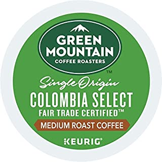 Green Mountain Coffee Roasters Colombian Fair Trade Select Keurig Single-Serve K-Cup Pods, Medium Roast Coffee, 72 Count ( Pack May Vary )