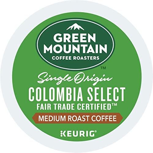 Green Mountain Coffee Colombia Select, Single-Serve Keurig K-Cup Pods, Medium Roast Coffee, 48 Count, 2 Boxes of 24 Pods