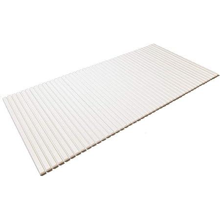 東プレ シャッター式風呂ふた ホワイト 75×159cm L16