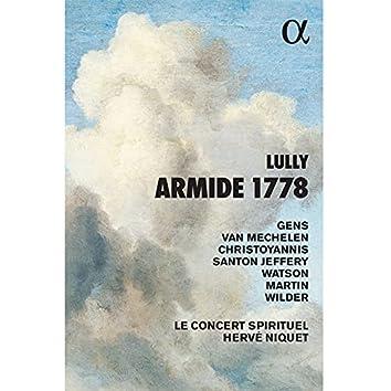 Lully: Armide 1778