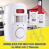 Peanutaso Sensor de Movimiento inalámbrico Detector de...