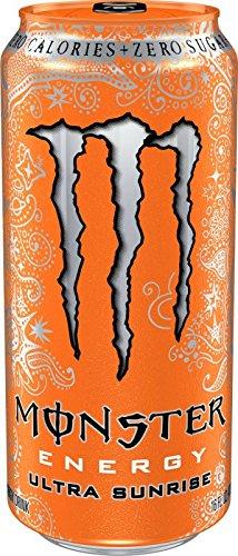 Monster Energy Ultra Energy Drinks 6 - 16oz Cans (Ultra Sunrise)