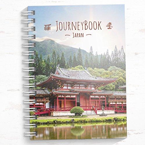 Japan Reisetagebuch zum selberschreiben/als Abschiedsgeschenk zum ausfüllen - DIN A5 mit interaktiven Aufgaben und Challenges und Reise-Zitaten
