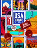 USA Tourist Places Article Word Games Volume 1: Large Print Puzzle Game For Travel Tourism Lover Includes Word Search Word Scramble Missing Vowel Mage ... Like Yosemite Yellowstone Badland Kauai