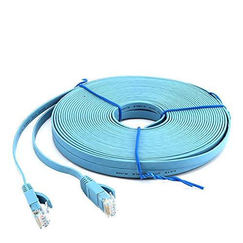 Fijnere Ethernet-kabel RJ45 Cat6 Lan-kabel Rode netwerkkabel 30m 20m 10m 5m 2m 3m 1mUTP Kabel Router Laptop Internet Kabelverlenging, zoals de afbeelding laat zien, 20m