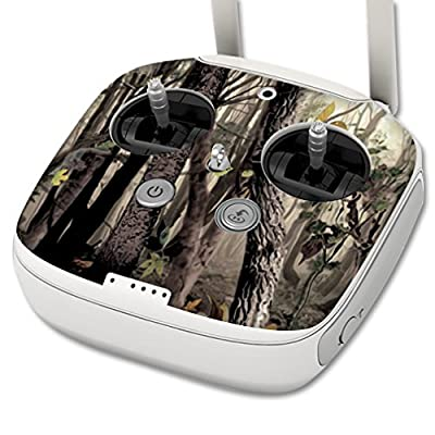 MightySkins Skin Compatible with DJI Phantom 3 Professional Quadcopter Drone Controller wrap Cover Sticker Skins Tree Camo