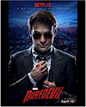 Daredevil (TV Series 2015 - ) 8 inch x 10 inch Photo Charlie Cox Netflix Poster April 10 kn