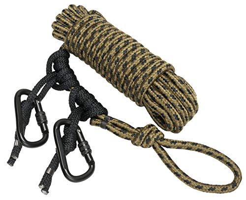 Hunter Safety System Lifeline for Tree-Stand Hunting Safety Harness, Non-Reflective, Tandem