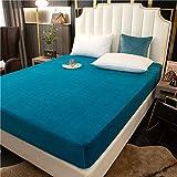 Xiaomizi Esta sábana es muy suave y sedosa de 180 x 200 + 25 cm (funda de colchón+2 fundas de almohada)