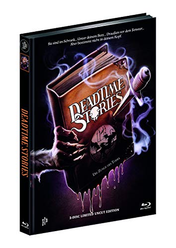 DEADTIME STORIES - ZUNGE DES TODES (Blu-ray + DVD) - Cover A - Mediabook - Limited 444 Edition - UNCUT