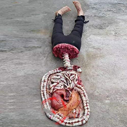 LGRSNC Halloween, decoratieve namaakdelen van het lichaam en de rekwisieten, Bar Horror Body organen + onderlichaam rekwisieten decoratieve hanger
