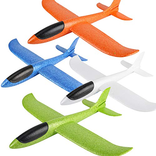 BooTaa 4 Pack Airplane Toys, 17.5&q…