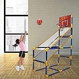 ZHANGYUEFEIFZ Triciclo Bebe Baloncesto Hoop para niños Niños Arcade Baloncesto Hoop Juego de Arcade de Baloncesto Interior o al Aire Libre (Color : Fun Basketball Hoop)