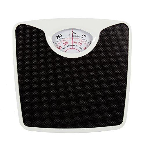 Bodico Classic Retro Analog Vinyl Top Body Weight Scale, 10.5