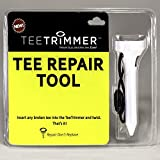 Tee Repair Tool, Golfing Accessory Gadget Sharpens Broken Wood & Plastic Tees; Attaches to Golf Bag – Best Gift for Golfers