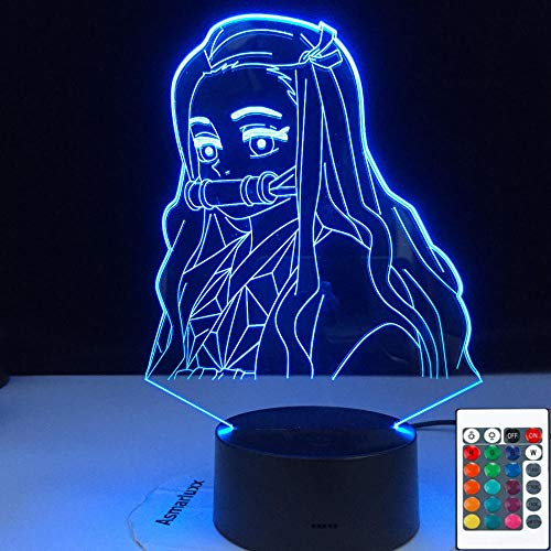 Led Night Light for Bedroom Decor Nightlight Kids Child Table 3d Lamp Gift
