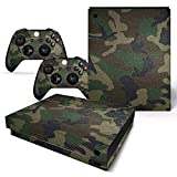 Mcbazel Pattern Series Skin Sticker for Xbox One X Console and Controller Camouflage