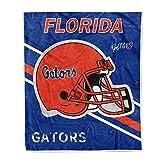 inpamap Flannel Throw Blanket University Logo Print Warm Blankets Super Soft 50 × 60 (Florida Gators)