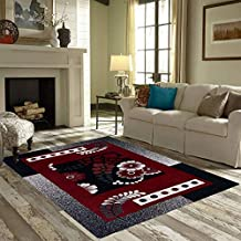 Braids Home Jacquard Weaved Premium Living Room Carpet and Area Rug -(5ft x 7 ft, Multicolor)