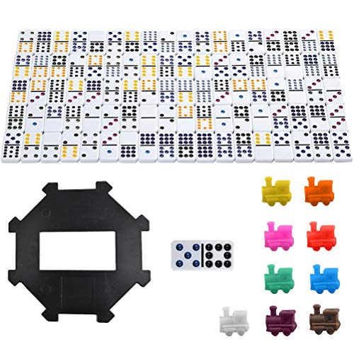 FOCCTS 91pcs Mexican Train Dominos...