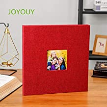 Ivory Pioneer Photo Albums 100-Pocket Moire Cover Album with Goldtone Oval Frame for 4 by 6-Inch Prints