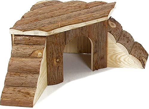 Karlie knaaghuisje met 1 of 2 ladder(s) van echt hout - in 4 maten