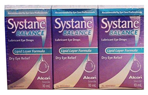 Systane Balance, Lubricant Eye Drops–3x 10ml (Vorteilspack)