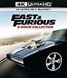 Blu-ray8 - Fast And The Furious/ 2 Fast 2 Furious/ Tokyo Drift/Fast & Furious/Fast 5/Fast & Furious 6/F7/F8 (8 BLU-RAY)
