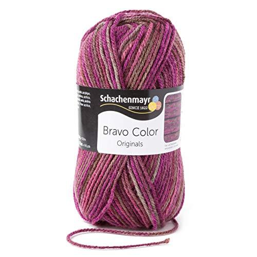 Schachenmayr Handstrickgarne Bravo Color, 50g Beere