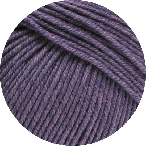 Lana Grossa Merino Superfein Cool Wool Melange Fb. 135 lila melange