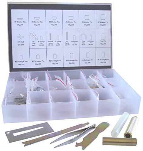 Rekey Kit SC Compatible Keyway ReKey Rekeying Set Locksmith...