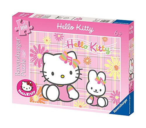 Ravensburger 10893 Hello Kitty Puzzle 100 Pezzi