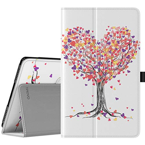 TiMOVO Case for Samsung Galaxy Tab A 8.0 2019 (T290/T295),Premium Slim Folding PU Leather Shell Stand Cover Case for Galaxy Tab A 8.0 2019 Tablet,Not Fit Galaxy Tab A 8.0 2017/2018 - Love Tree