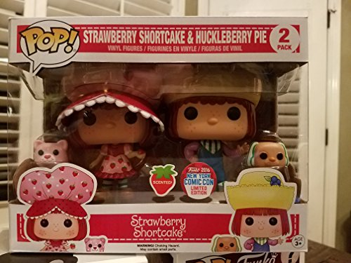 Set 2 Figuras Pop! Strawberry Shortcake & Huckleberry Pie Exclusive