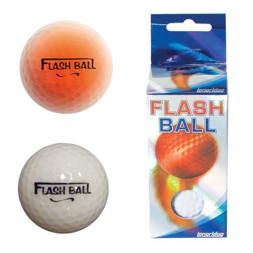 LONGRIDGE Flash Golfball 2er Pack, Weiß
