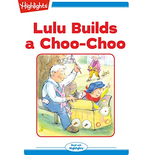 Lulu Builds a Choo-Choo cover art
