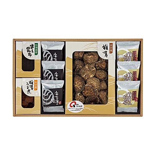 日本の美味・御吸い物 フリーズドライ詰合せ 乾椎茸・出し昆布・椎茸うま煮・お吸い物 FB80