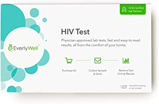 EverlyWell - at-Home HIV Test - Discreetly Test for HIV (Not Available in NY, NJ, RI)