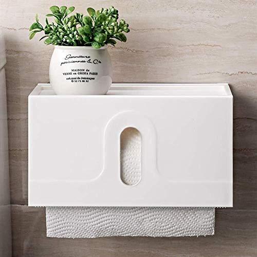 Betty Toilettenpapierhalterung Saugnapf-Rack Badezimmer Wandbehang Rollenhalter wasserdichte Plastik Toilet Tissue Box
